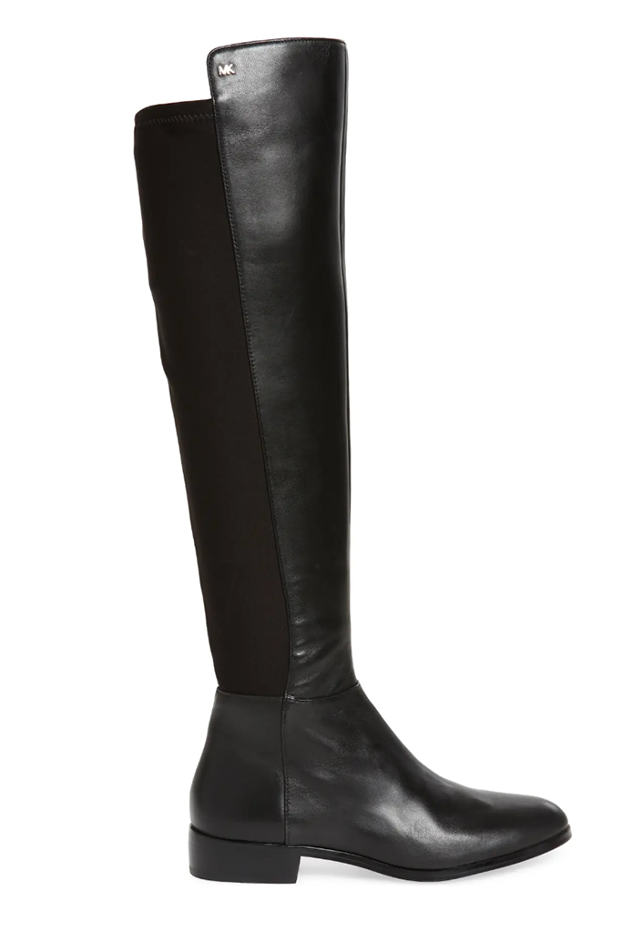 michael kors boots, black boot, over the knee boots