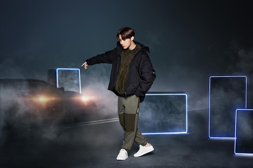 BTS J-Hope Fila Project 7 Court Ace