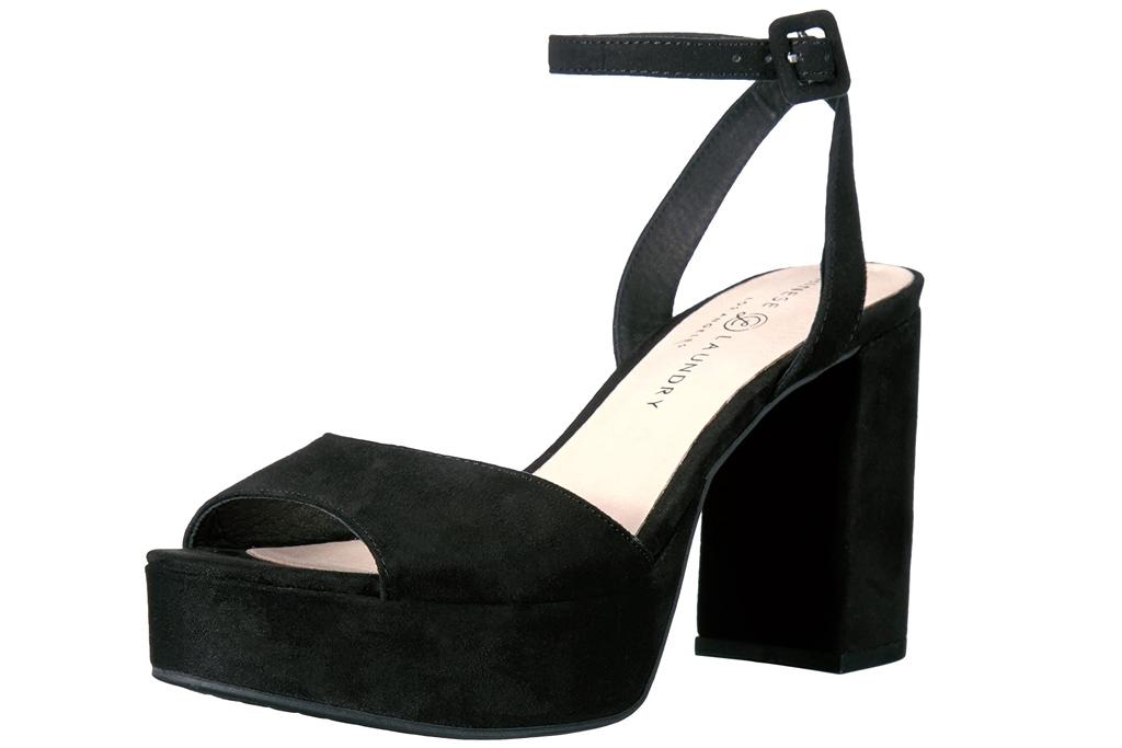 black heels, platform, chinese laundry