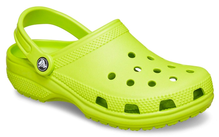 crocs, clogs, green