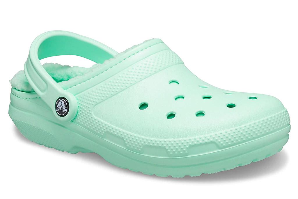 crocs, clogs, lined