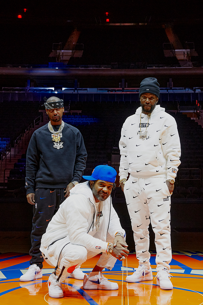 Jim Jones Juelz Santana Cam'Ron Dipset Kith New York Knicks Nike