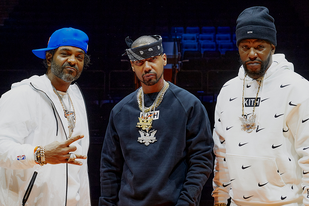 Kith Taps Dipset to Reveal Its New York Knicks Collection With Nike