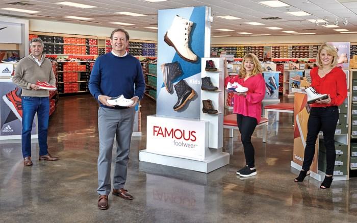 Famous Footwear Executive Team