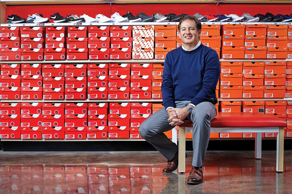 Famous Footwear Mike Edwards