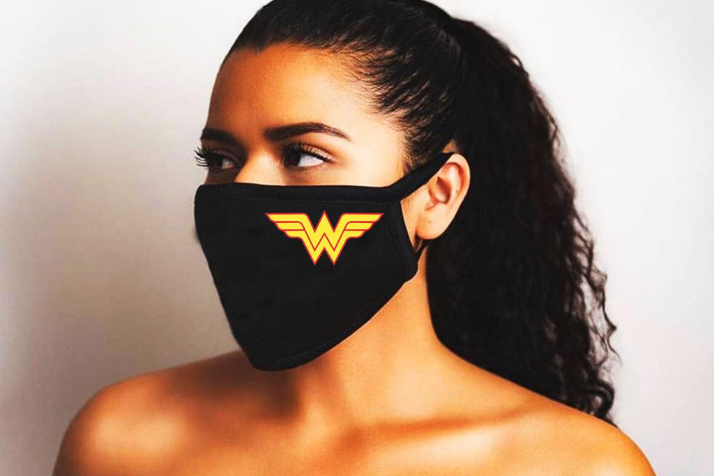 wonder woman face mask