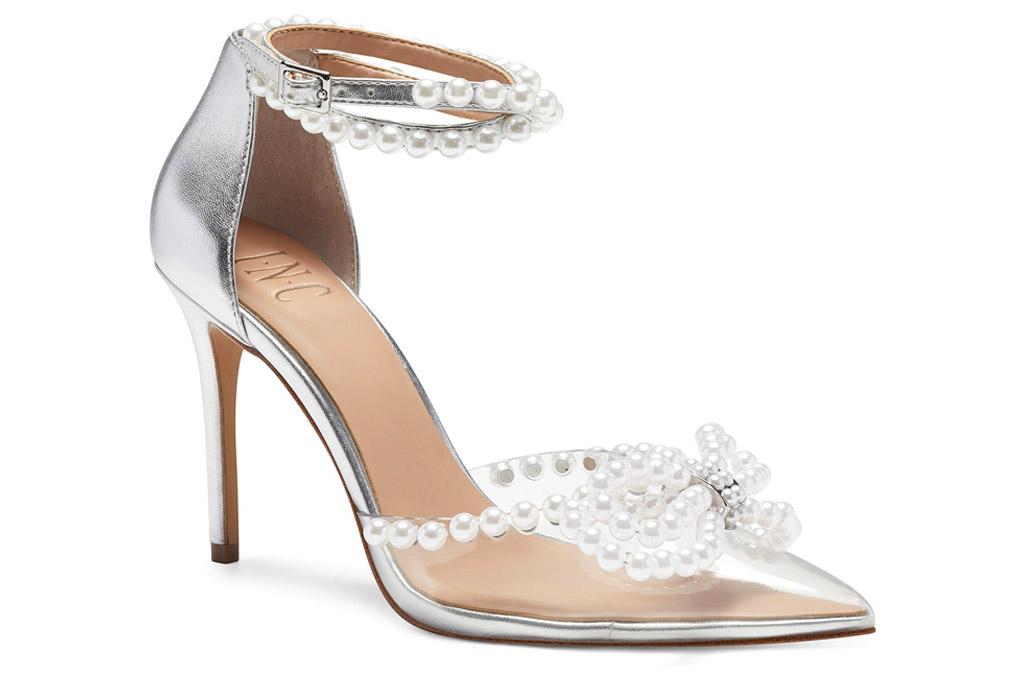 clear heels, pumps, inc