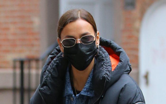 Russian Model Irina Shayk And Her Daughter Lea Cooper Walk Home In West Village In New York City