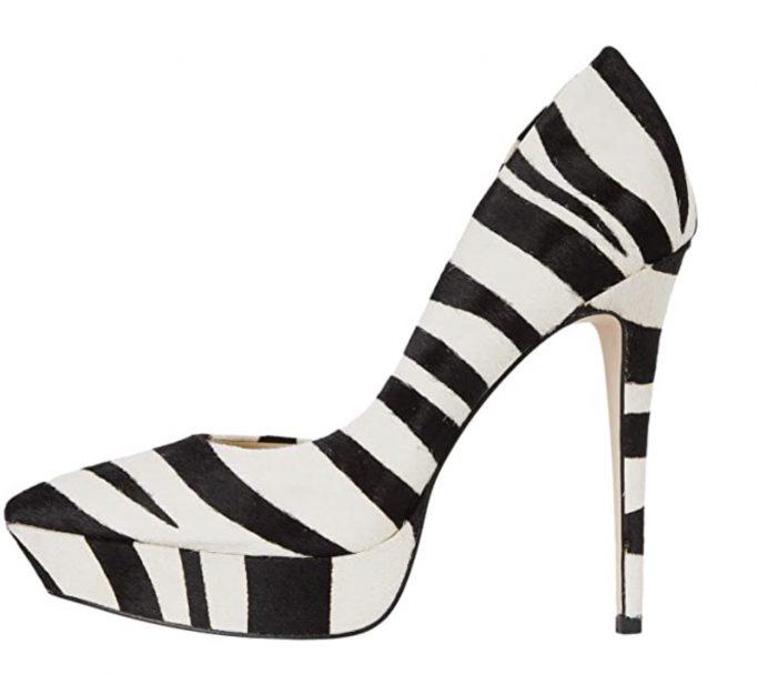 Jessica Simpson Zebra Pumps