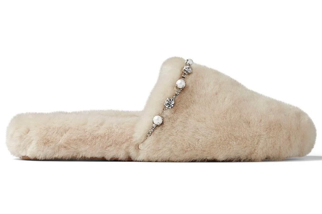 jimmy choo, aliette flats, slippers
