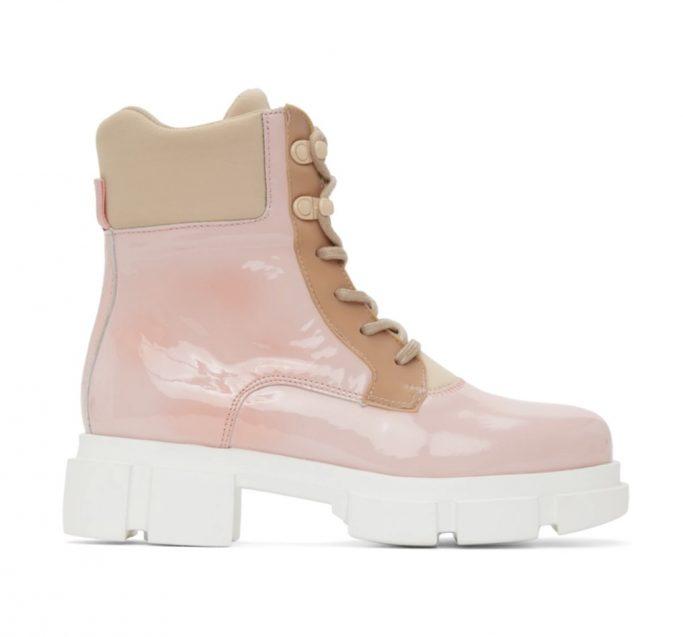 Joshua Sanders Pink Boots