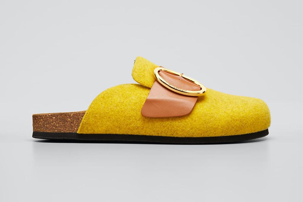 jw anderson, bergdorf goodman designer shoe sale, designer shoes on sale