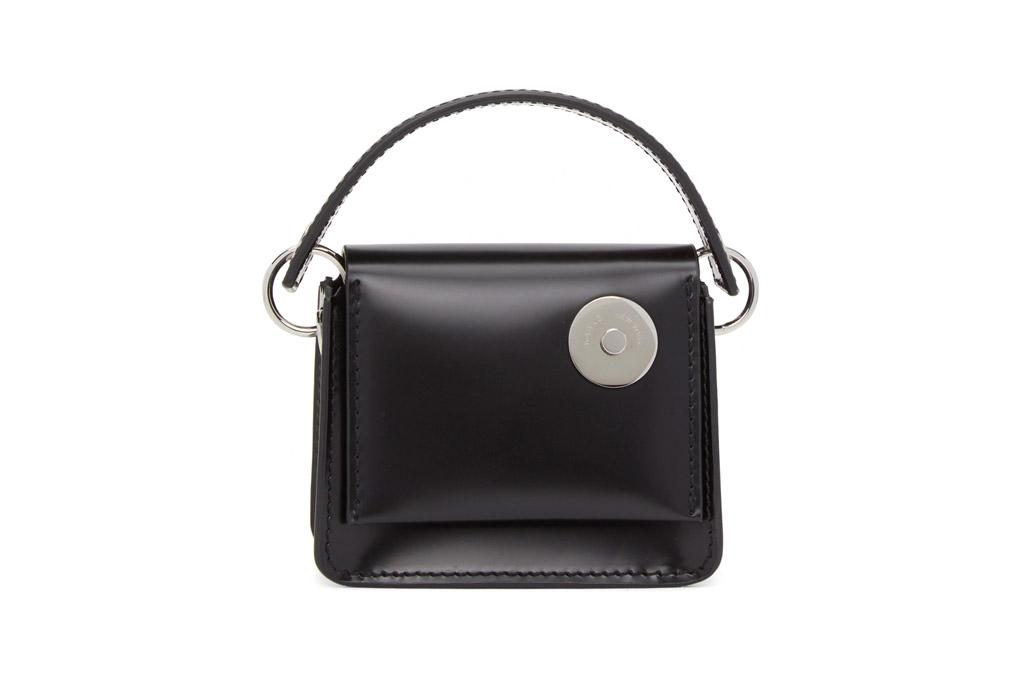 black purse, mini bag