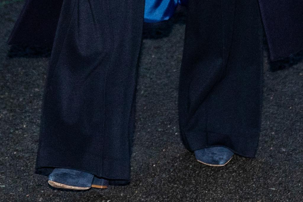 kate middleton, dress, coat, blue, united kingdom, train tour, sweater, heels, blue suede pumps, emmy, mask, uk