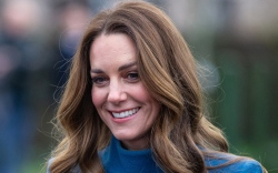 kate middleton, dress, coat, blue, united