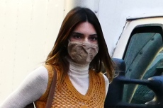 Kendall Jenner Turns Into 'Spider Girl' in High-Rise Leggings & 2020's Biggest Boot Trend