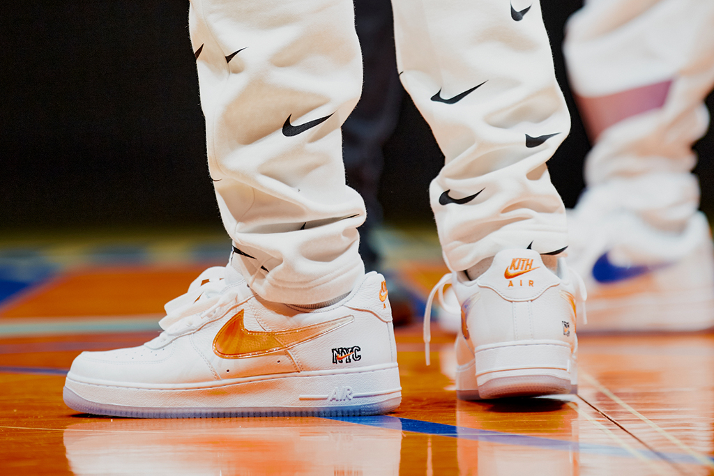 Kith New York Knicks Nike Air Force 1 Low