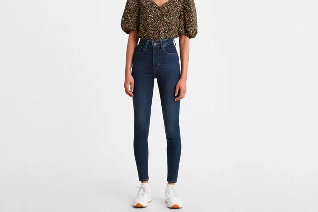 levi's, skinny jeans