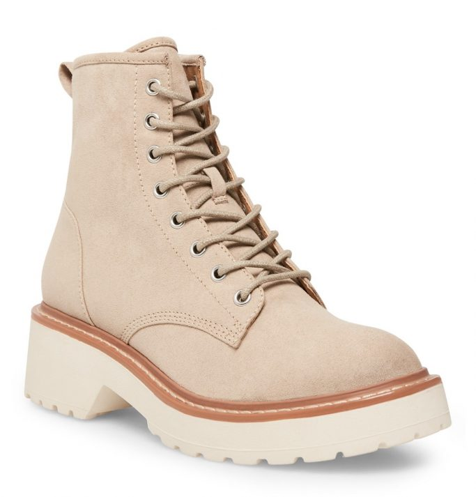 Madden Girl Carra Lace-Up Sole Boots