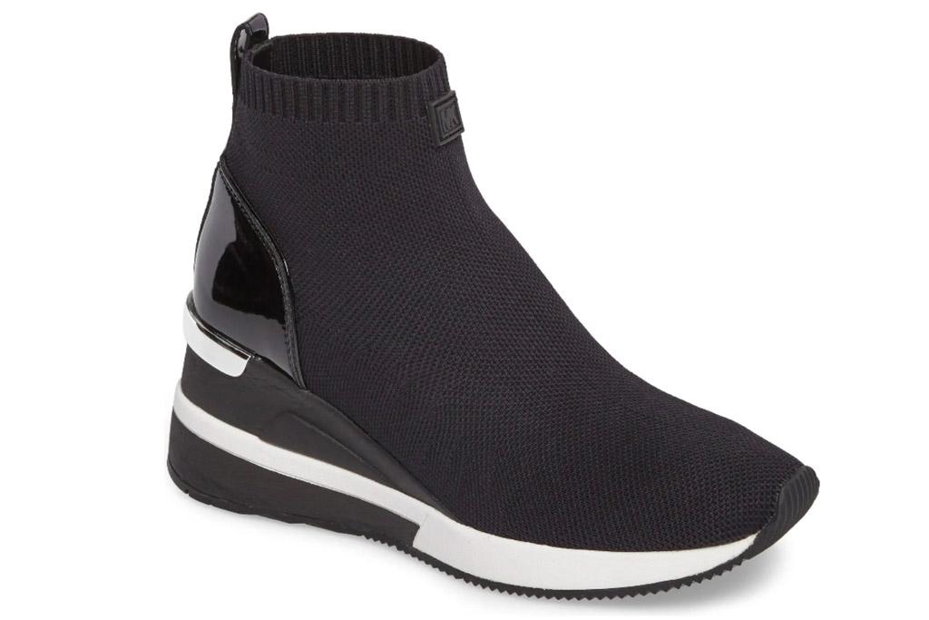 sock boots, booties, sneakers, michael kors
