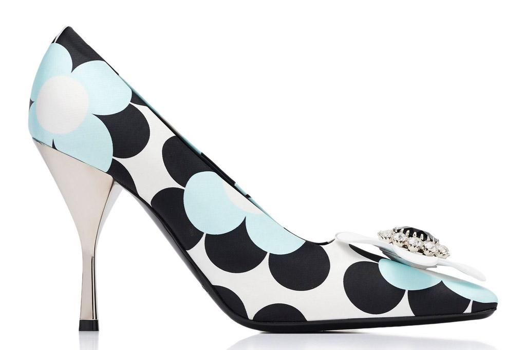 Richard Quinn x Moncler Genius Elsa pumps, heels
