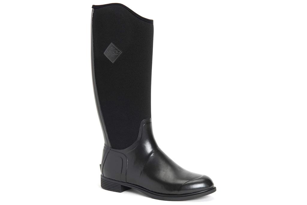 black boots, riding boot, rain boot, muck boot