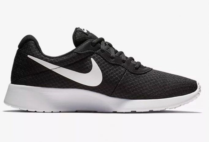 Nike Tanjun Sneakers, black and white sneakers, nike sneakers
