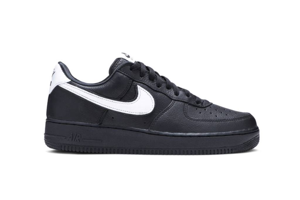 nike air force 1 rts black and white, nike sneaker, black air force 1 low
