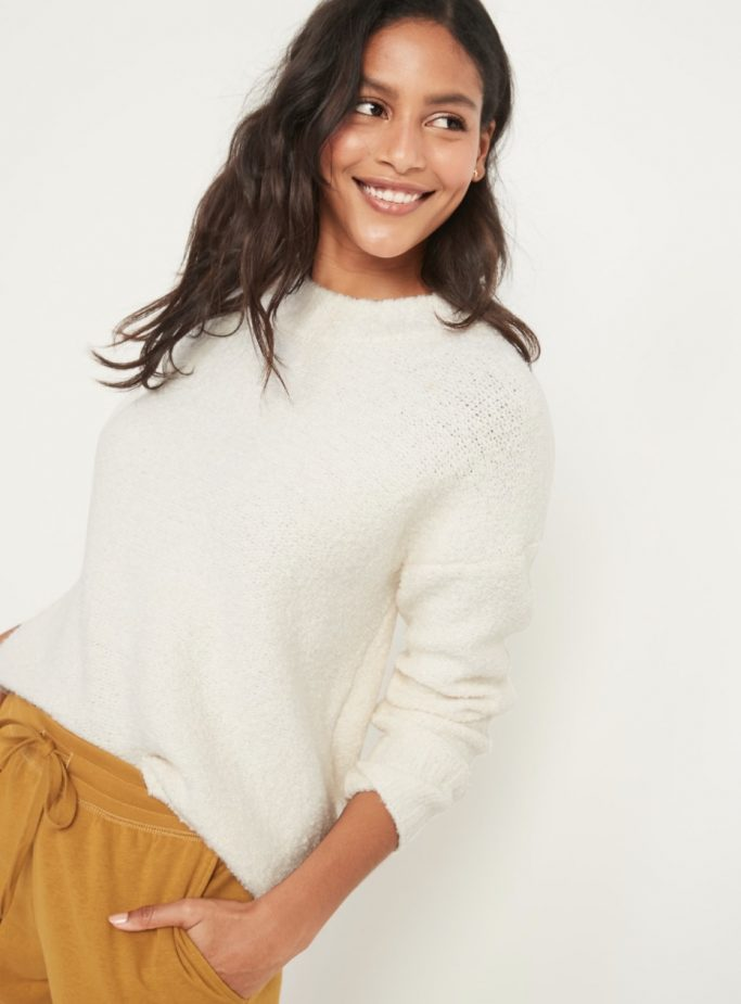 Cozy Oversized Crew-Neck Sweater