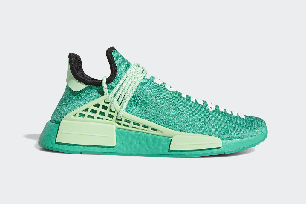 Pharrell Williams Adidas Originals PW HU NMD green