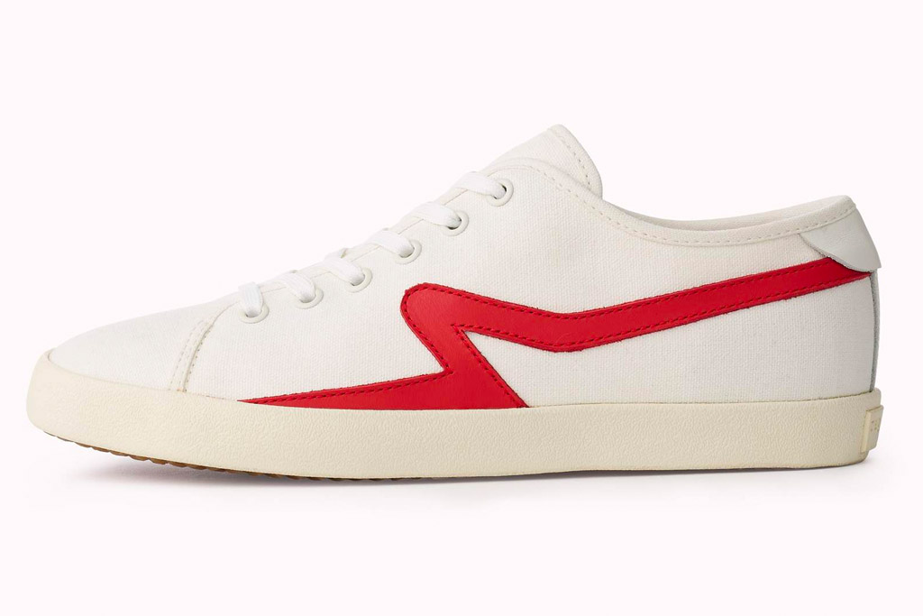 rag & bone, sneakers, red, white