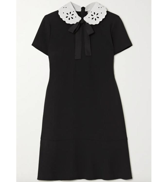 redvalentino-peter-pan-collar-dress