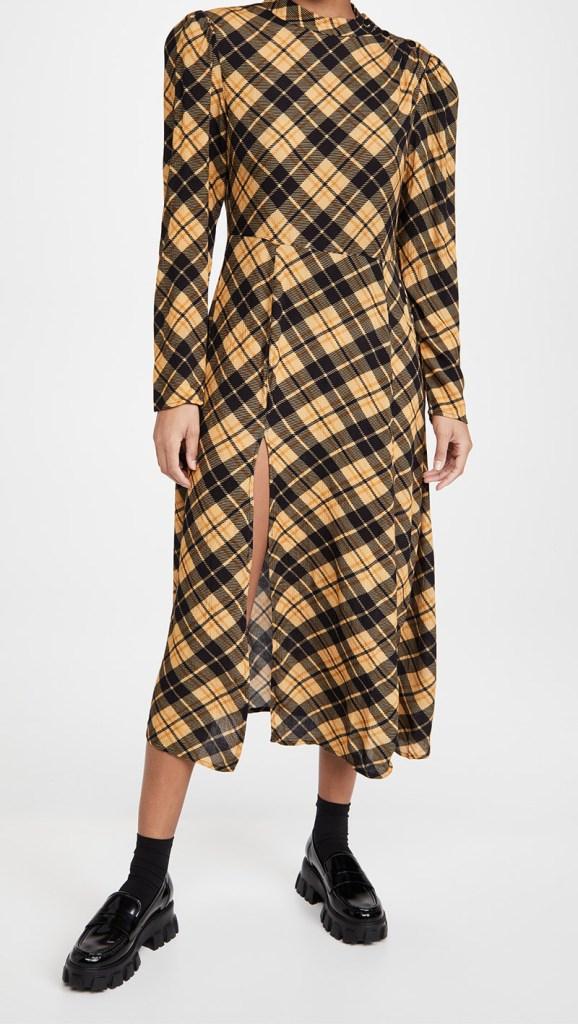 plaid dress, checkered dress, shopbop