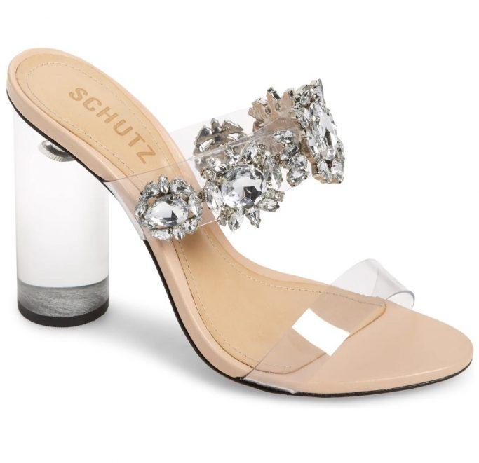 Schutz Blanck Slide Sandal
