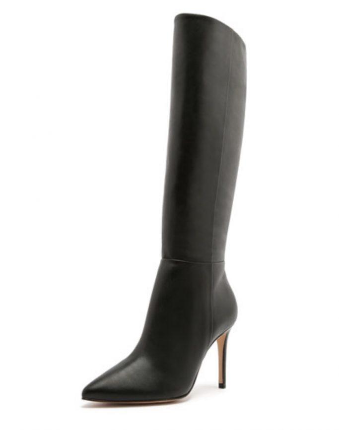 Schutz Leather Knee Boots