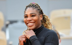 Serena Williams during the Day one
