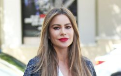 Sofia Vergara Arrives At America Got