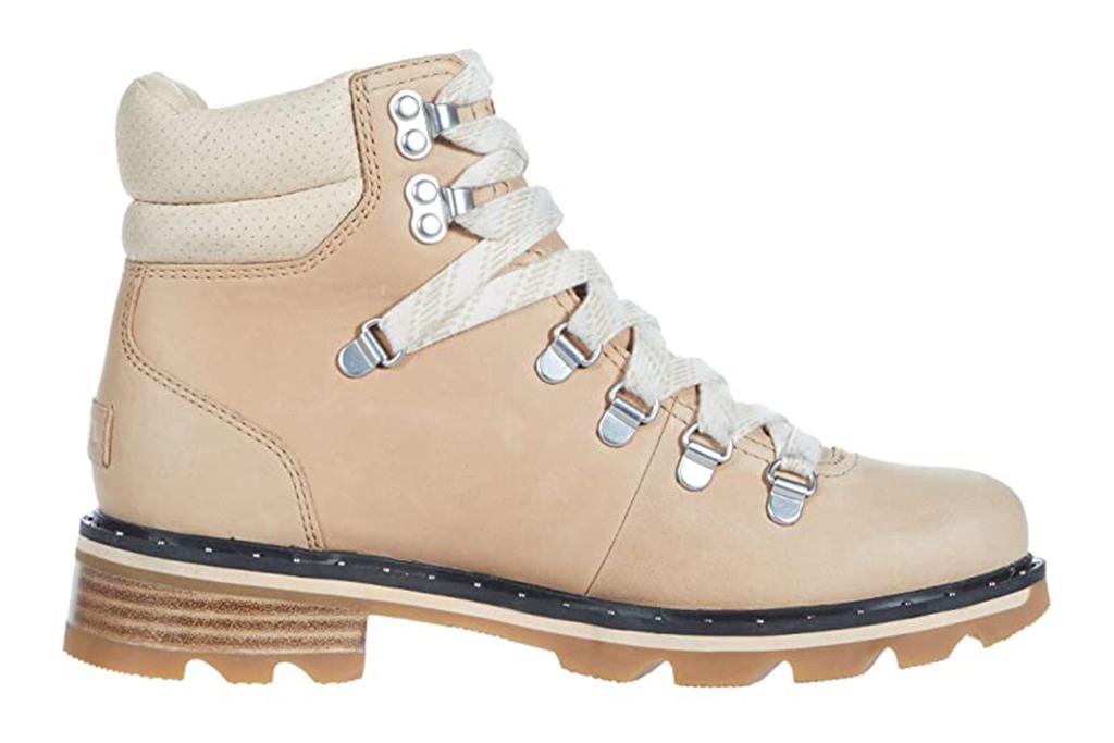 sorel boots, katie holmes sorel boots, lennox hiker boots