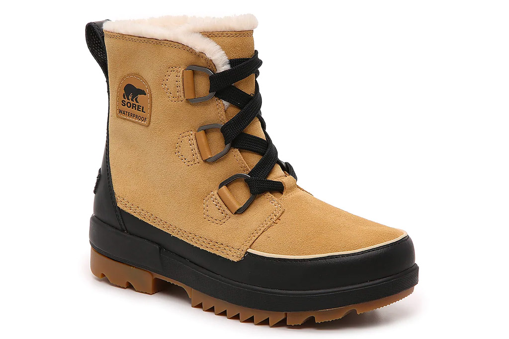 snow boots, sorel