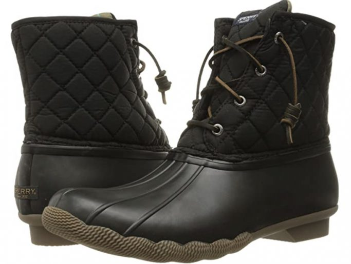 Sperry Saltwater Quilted Nylon Boots