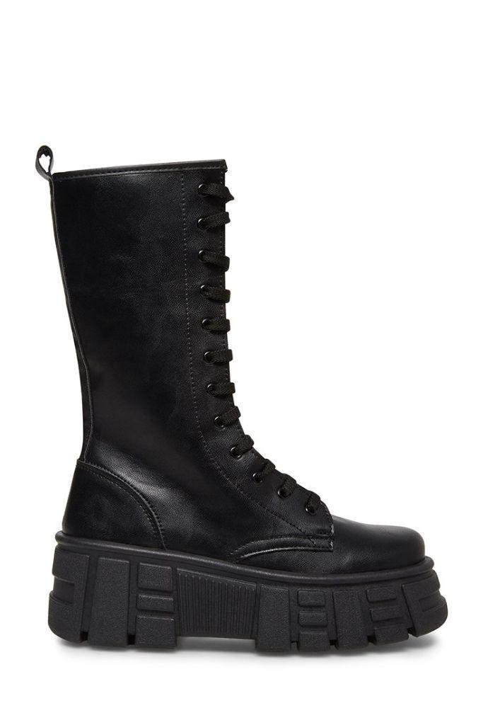 steve madden boots, steve madden, lug sole boots, 2020 fashion trends