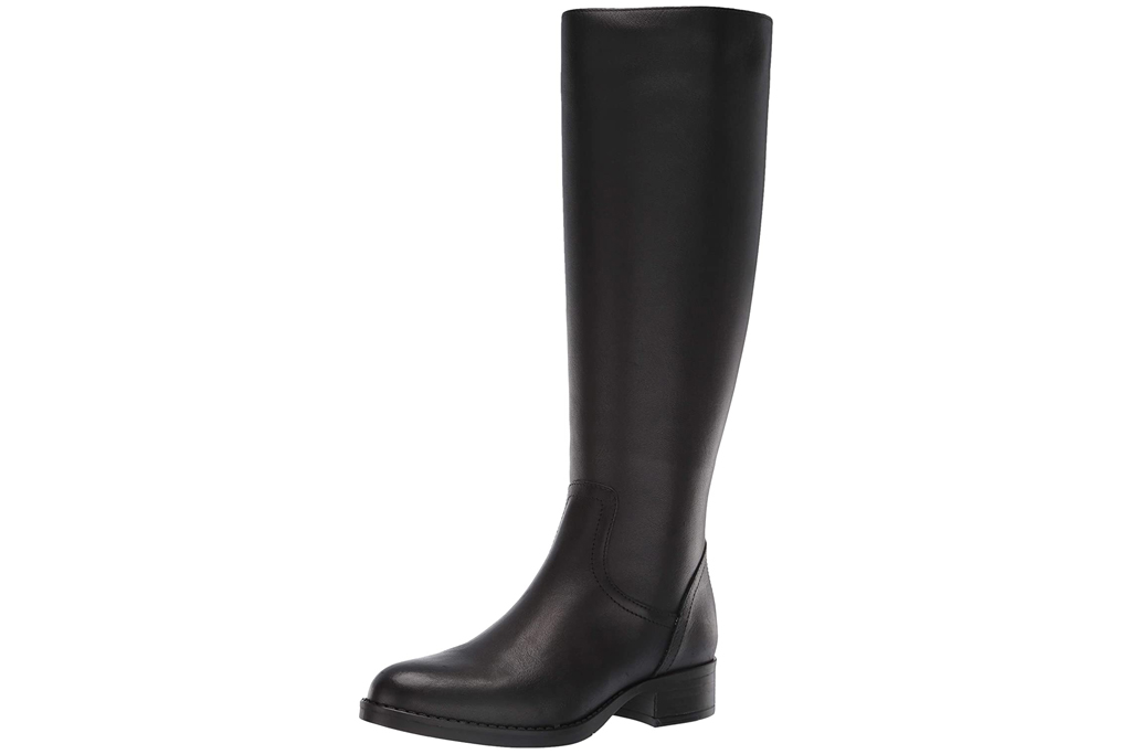 black boots, riding boot, rain boot, steve madden