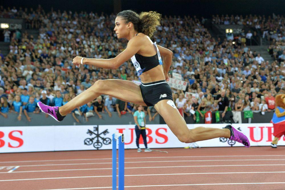 sydney mclaughlin, hurdles, sprint, shoes, new balance, award