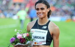 sydney mclaughlin, hurdles, sprint, shoes, new