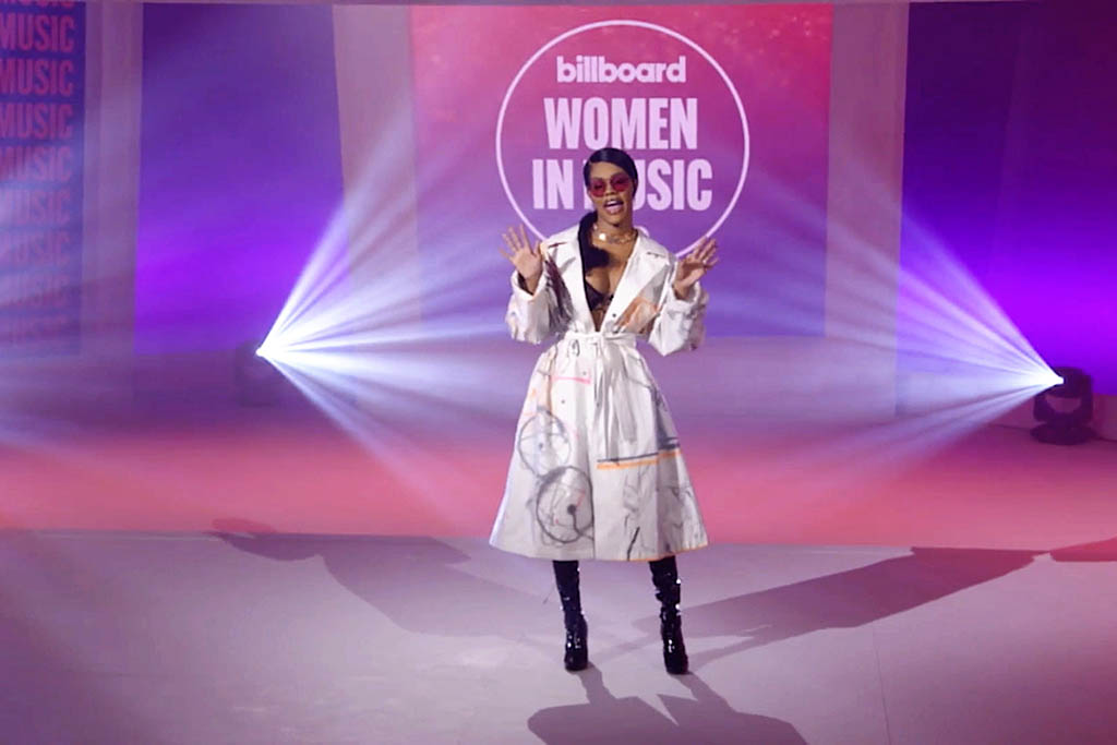 UNSPECIFIED - DECEMBER 10: In this screengrab released on December 10, Teyana Taylor speaks during the Billboard Women In Music 2020 event on December 10, 2020. (Photo by 2020 Billboard Women In Music/Getty Images for Billboard)
