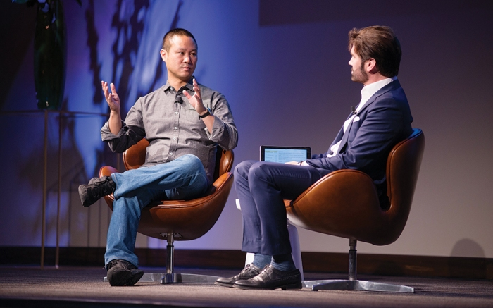 Michael Atmore Tony Hsieh