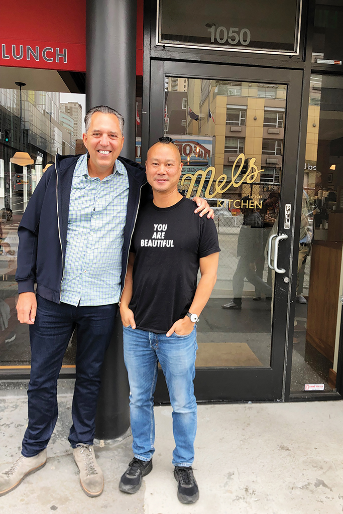 Tony Hsieh Fred Mossler