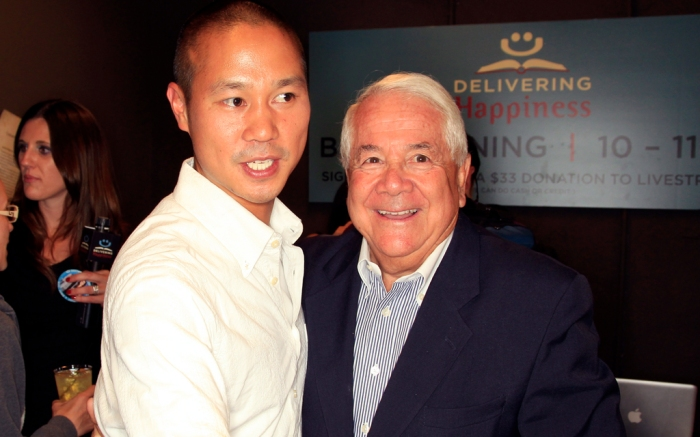 Tony Hsieh Sonny Shar Book Launch Party