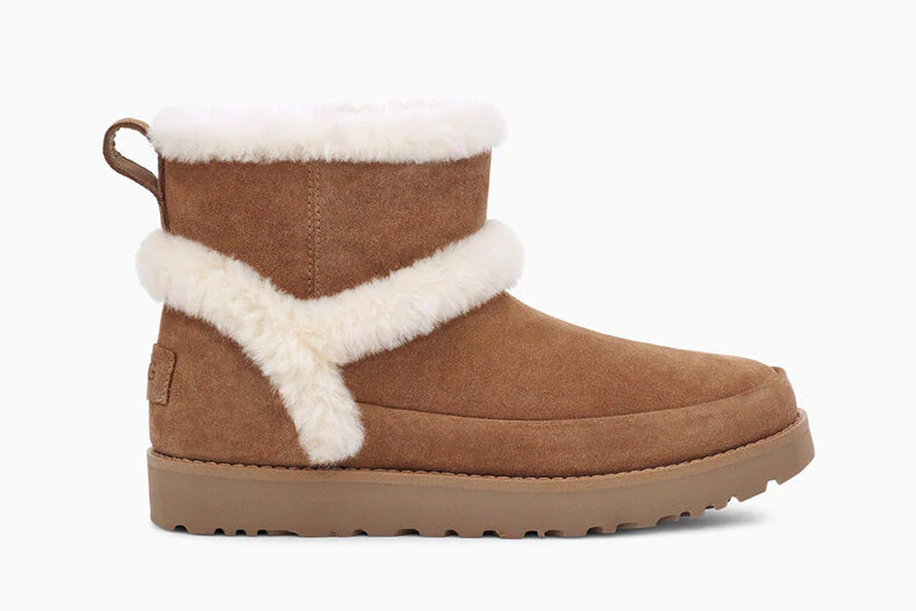 ugg, boots, brown, suede