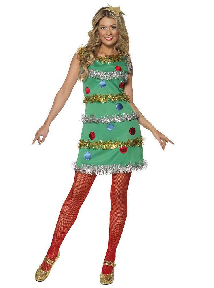 christmas tree, dress, costume, walmart